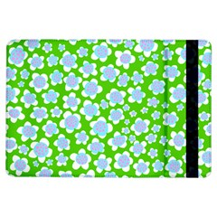 Flower Green Copy iPad Air Flip
