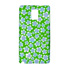 Flower Green Copy Samsung Galaxy Note 4 Hardshell Case