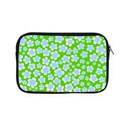 Flower Green Copy Apple Macbook Pro 13  Zipper Case