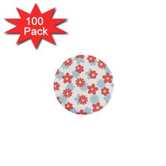 Flower Pink 1  Mini Buttons (100 pack)