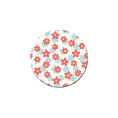 Flower Pink Golf Ball Marker (10 pack)