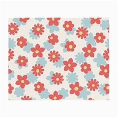 Flower Pink Small Glasses Cloth (2-Side)