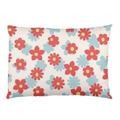 Flower Pink Pillow Case