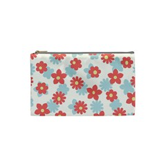 Flower Pink Cosmetic Bag (Small)