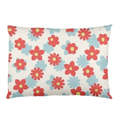 Flower Pink Pillow Case (Two Sides)