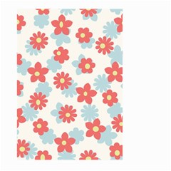 Flower Pink Large Garden Flag (Two Sides)