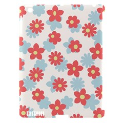 Flower Pink Apple iPad 3/4 Hardshell Case (Compatible with Smart Cover)