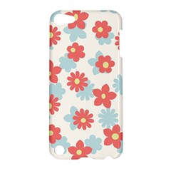 Flower Pink Apple iPod Touch 5 Hardshell Case