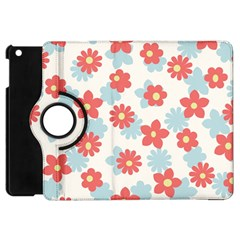 Flower Pink Apple iPad Mini Flip 360 Case