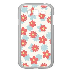 Flower Pink Samsung Galaxy Grand DUOS I9082 Case (White)