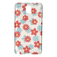 Flower Pink Samsung Galaxy Note 3 N9005 Hardshell Case
