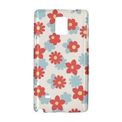 Flower Pink Samsung Galaxy Note 4 Hardshell Case