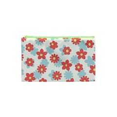 Flower Pink Cosmetic Bag (XS)