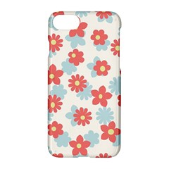 Flower Pink Apple Iphone 7 Hardshell Case