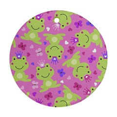 Frog Princes Ornament (Round)