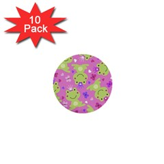 Frog Princes 1  Mini Buttons (10 pack)