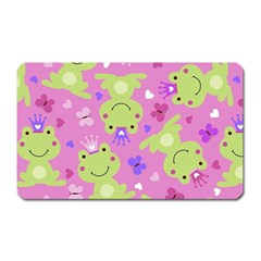 Frog Princes Magnet (Rectangular)