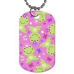 Frog Princes Dog Tag (Two Sides)
