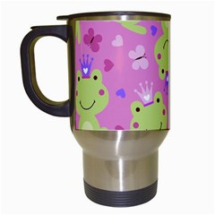 Frog Princes Travel Mugs (White)