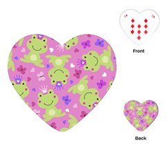Frog Princes Playing Cards (Heart)