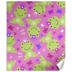 Frog Princes Canvas 8  x 10