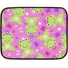 Frog Princes Fleece Blanket (Mini)