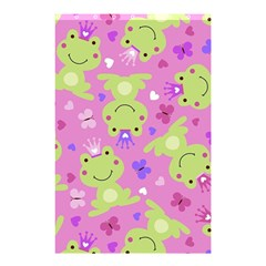 Frog Princes Shower Curtain 48  x 72  (Small)