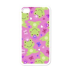 Frog Princes Apple iPhone 4 Case (White)