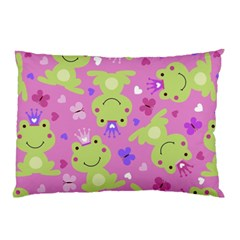 Frog Princes Pillow Case (Two Sides)