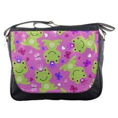 Frog Princes Messenger Bags