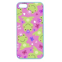 Frog Princes Apple Seamless iPhone 5 Case (Color)