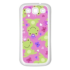 Frog Princes Samsung Galaxy S3 Back Case (White)