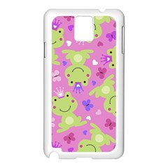 Frog Princes Samsung Galaxy Note 3 N9005 Case (White)