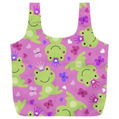 Frog Princes Full Print Recycle Bags (L)