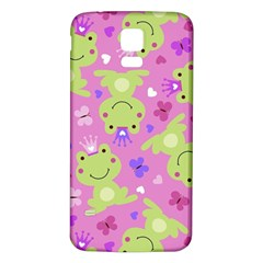 Frog Princes Samsung Galaxy S5 Back Case (White)