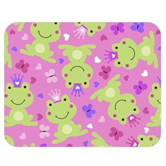 Frog Princes Double Sided Flano Blanket (Medium)