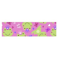 Frog Princes Satin Scarf (Oblong)