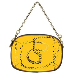 Yellow Soles Of The Feet Chain Purses (One Side)