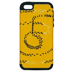 Yellow Soles Of The Feet Apple iPhone 5 Hardshell Case (PC+Silicone)