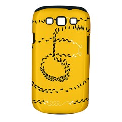 Yellow Soles Of The Feet Samsung Galaxy S III Classic Hardshell Case (PC+Silicone)