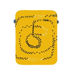 Yellow Soles Of The Feet Apple iPad 2/3/4 Protective Soft Cases