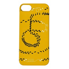 Yellow Soles Of The Feet Apple iPhone 5S/ SE Hardshell Case