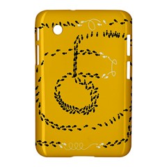 Yellow Soles Of The Feet Samsung Galaxy Tab 2 (7 ) P3100 Hardshell Case