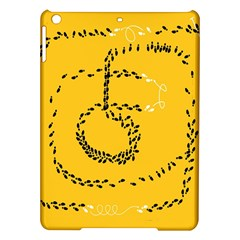 Yellow Soles Of The Feet iPad Air Hardshell Cases