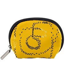 Yellow Soles Of The Feet Accessory Pouches (Small)