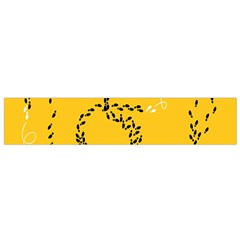 Yellow Soles Of The Feet Flano Scarf (Small)