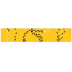Yellow Soles Of The Feet Flano Scarf (Large)