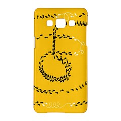 Yellow Soles Of The Feet Samsung Galaxy A5 Hardshell Case