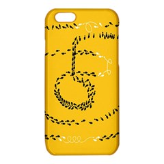 Yellow Soles Of The Feet iPhone 6/6S TPU Case