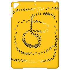 Yellow Soles Of The Feet Apple Ipad Pro 9 7   Hardshell Case